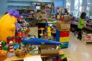Roomful of toys at Jumble Sale